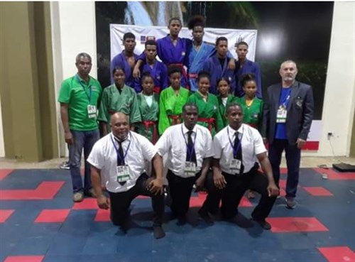 IKA - TD / CAMPAIGN :Interview with Mr.Jaime Casanova Martinez President of the Pan American Kurash Union (UPK)