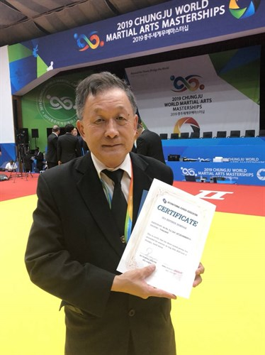IKA - TD / CAMPAIGN :INTERVIEW WITH MR .Pulsak Satjathamnukul President of Thailand Kurash Association(TKA)