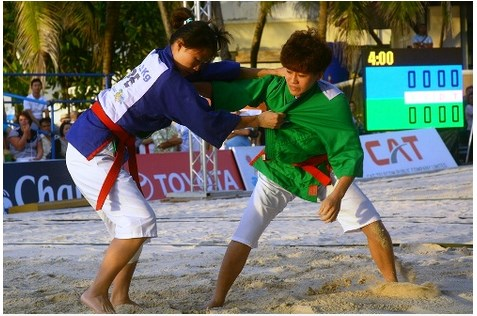 Beach kurash at the 2016 Asian Beach Games