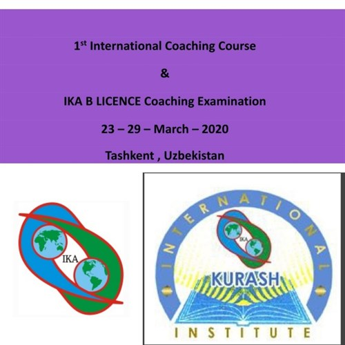 2020 1ST INTERNATIONAL COACHING COURSE & 1ST INTERNATIONAL B LICENCE EXAMINATION